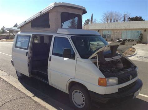 car engine manuals 1995 volkswagen eurovan interior lighting find used 1995 volkswagen eurovan cer van cer 3 door 2 5l winnebago in el paso texas