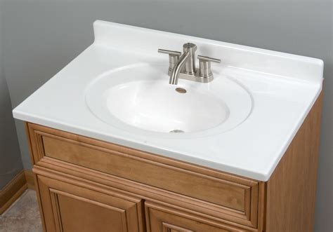 Oval Bathroom Vanity Imperial Recessed Center Oval Bowl 31 Quot Single Bathroom Vanity Top Impe1025 Ebay