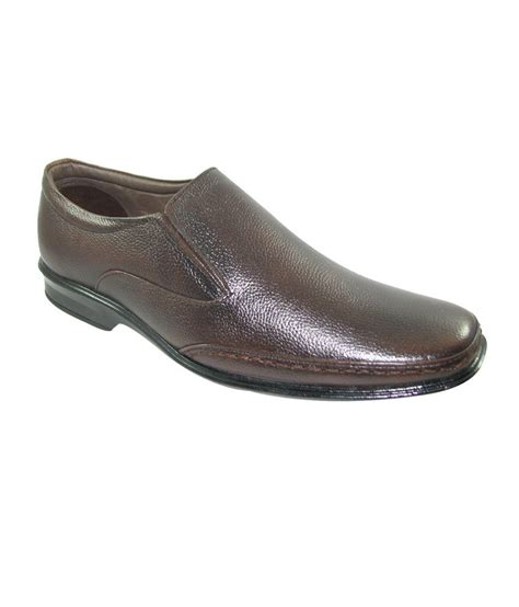 Formal Shoes 7589 faith brown faux leather shoe for at snapdeal