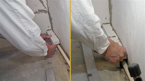 Heizungsrohre Im Boden Verlegen by Verkleidung F 252 R Heizungsrohre Mit Porenbetonsteinen