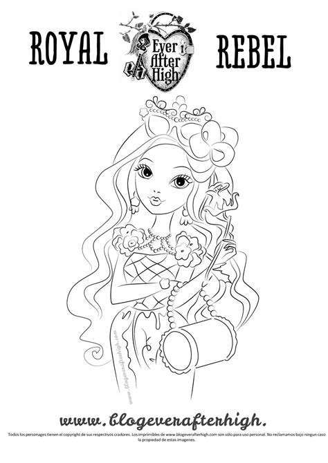 ever after high coloring pages cards briar beauty coloring pages ever after high
