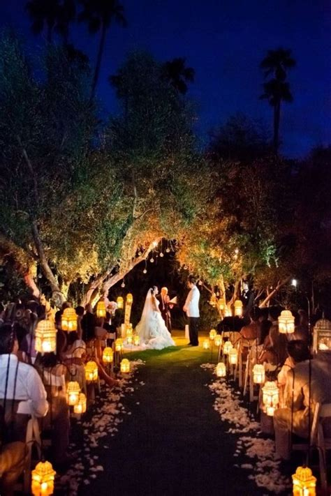 12 most romantic night wedding ideas handmade wedding