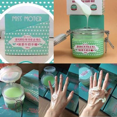 miss moter matcha milk wax pemutih kulit