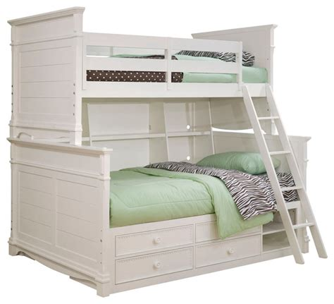 white bunk beds with storage lea bunk bed with storage and bookcase in white