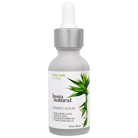 Berapa Serum Vit C instanatural vitamin c serum with hyaluronic acid ferulic acid anti aging 1 fl oz 30 ml