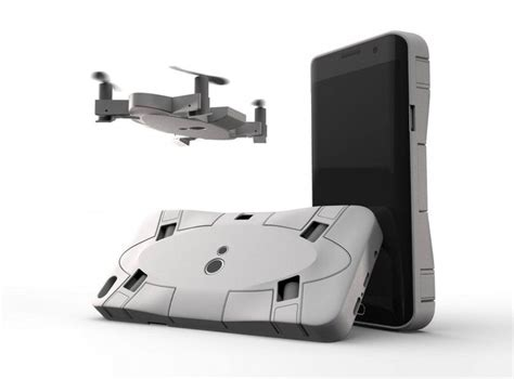 selfly une coque pour iphone qui integre  drone