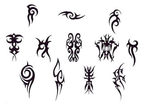 simple tattoo flash tribal design img18 171 tribal 171 flash tatto sets