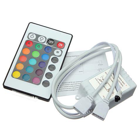 Remote Led Light Strips Buy 24 Key Ir Remote Controller For Dc 12v Rgb Led Light Bazaargadgets