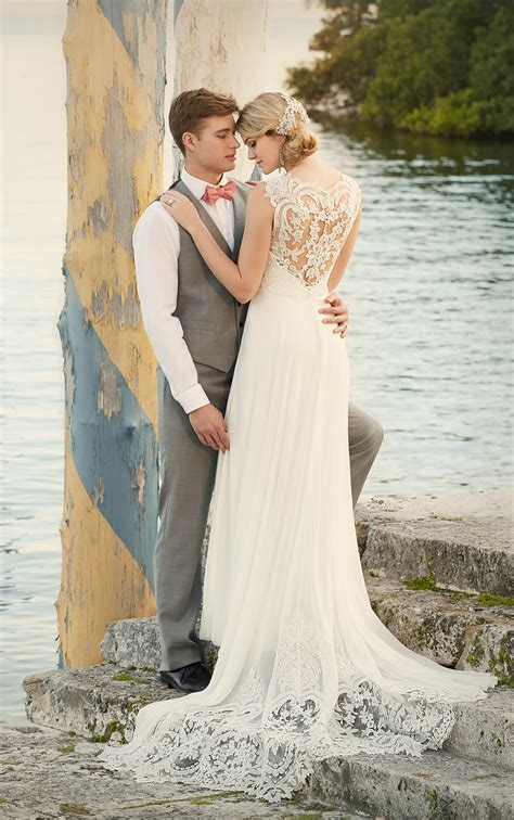 Brautkleider Strand by Designer Wedding Dress Wedding Dresses Essense