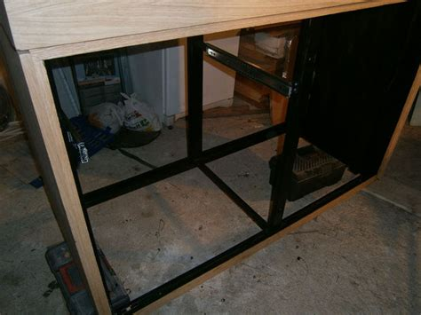 Make Drawer Mechanism by Build An Aquarium That Looks On Any Living Room 9