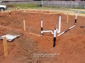 slab plumbing