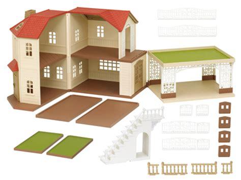 Sylvanian Family Maple Manor With Carport by Catalogue Sylvanian Families