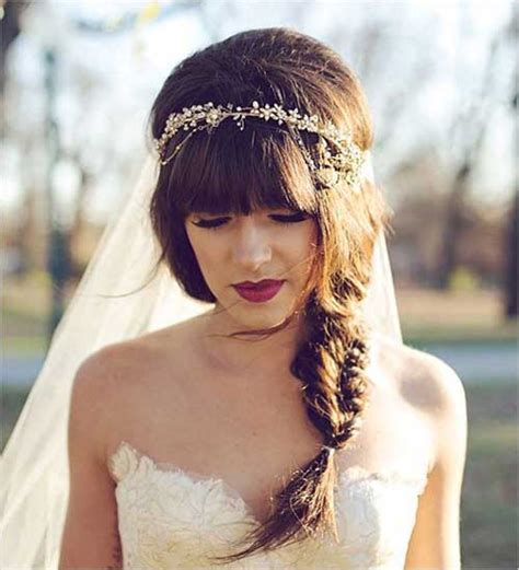 bohemian wedding hairstyles for hair 23 new beautiful wedding hair hairstyles haircuts 2016