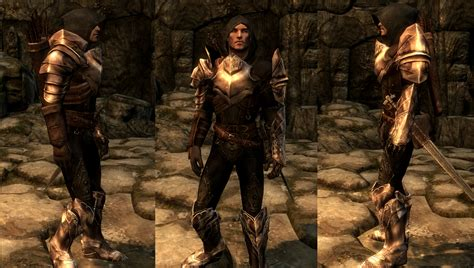 skyrim nexus male armor dread hunter and huntress armor echo at skyrim nexus