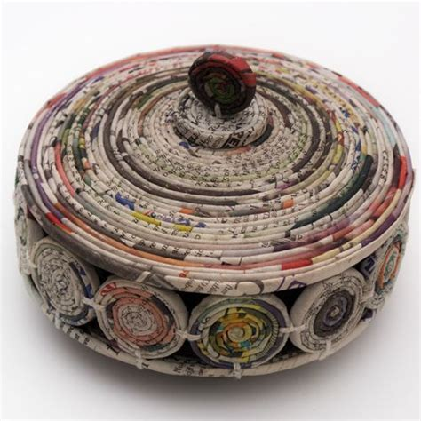 Paper Bowl Crafts - 128 best images about recycling papel reciclado on