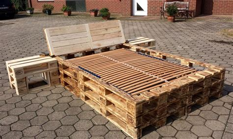 wood pallets for bed frame diy pallet picture frame unit pallet furniture