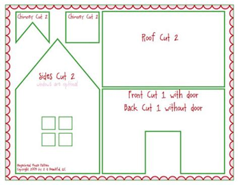 printable paper gingerbread house patterns 4 best images of printable gingerbread house patterns