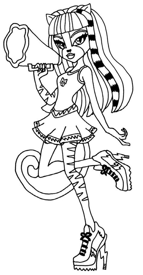 monster high coloring pages pinterest purrsephone monster high coloring page coloring pages of