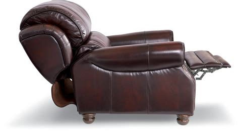 Lazy Boy High Leg Recliner by Traditional High Leg Leather Recliner By La Z Boy Wolf