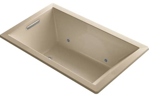 kohler bathtubs with jets kohler jetted bathtubs underscore 5 ft air bath tub in