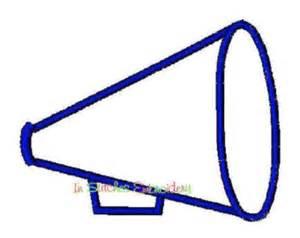 cheer megaphone template pin megaphone template printable on