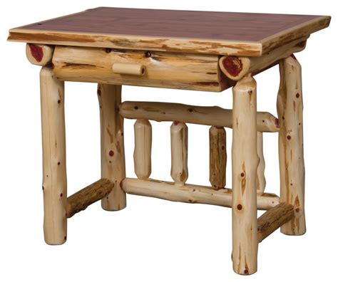 writing desks under 100 furniture barn usa rustic red cedar log student writing