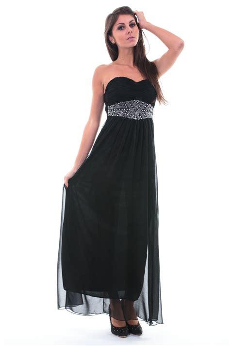 Robe De Bal Noir Longue - top robes robe longue bustier noir pas cher