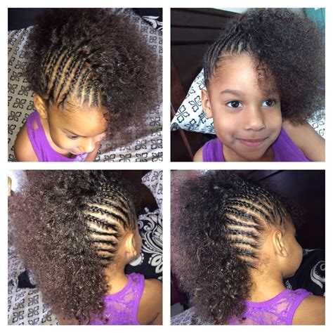 toddler updos for mixed hair cornrows mixed girl toddler halfro hairstyles lil