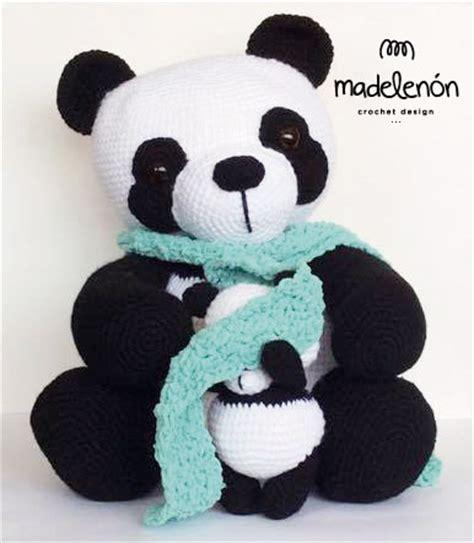 amigurumi panda ralph panda and baby amigurumi pattern amigurumipatterns