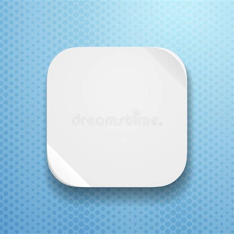 blank app template blank app icon template with flatted paper textur royalty