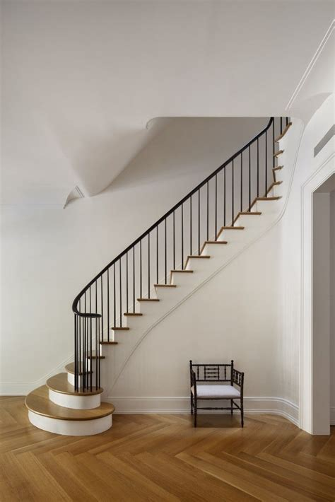 Townhouse Stairs Design A Brownstone For The 21st Century New York And Staircase Ideas
