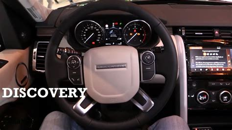 land rover interior 2017 2017 land rover discovery interior review