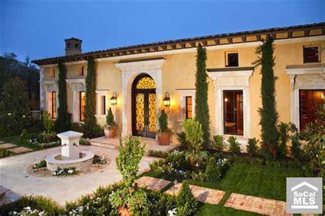 Italian Villa Floor Plans brand new italian villa in newport coast ca homes of