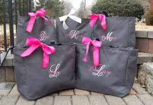 bridesmaids bags unique gift bags ideas for bridesmaids weddings