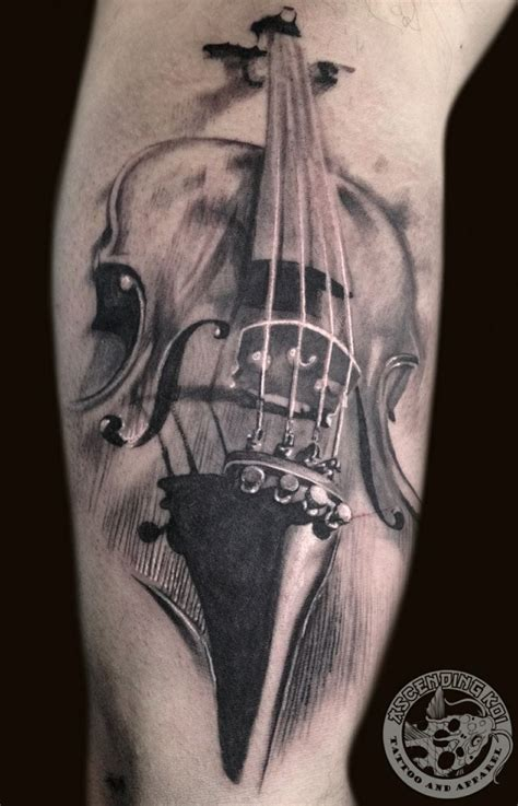 violin tattoo designs best 25 violin ideas on