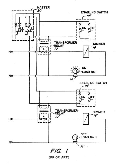 patent ep0361734a1 master electrical load