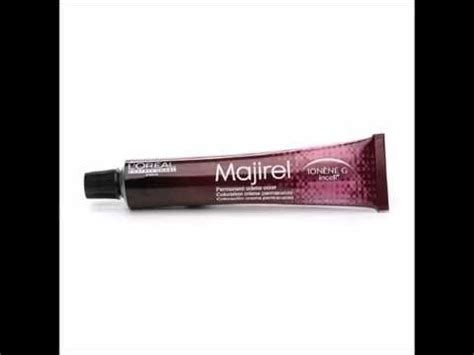 buy l oreal professionnel majirel permanent creme color ionene g incell 4 15 4brv in cheap price l oreal professionnel majirel permanent creme color light brown 5 5n 1 7 oz