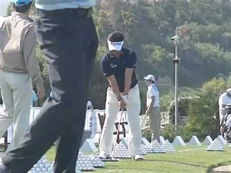 jack nicklaus slow motion swing ye yang golf swing iron slow motion face on golf