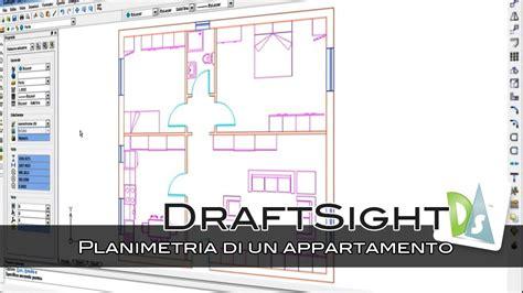 planimetria di un appartamento draftsight planimetria di un appartamento