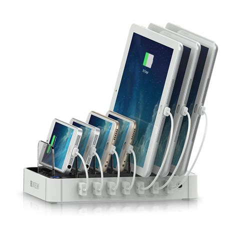 Countertop Charging Station by Satechi 7 Port Usb Charging Station Dock Launched Satechi