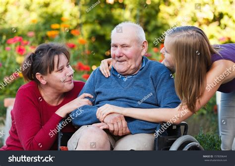 the generation visiting grandfather at the