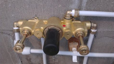 How To Adjust Shower Mixing Valve by Adjust Cold Water In Shower Mixing Valve The Homy