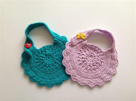 infant pattern video how to crochet baby bib motif 2 youtube