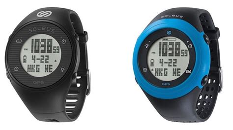 look at soleus new gps running watches competitor