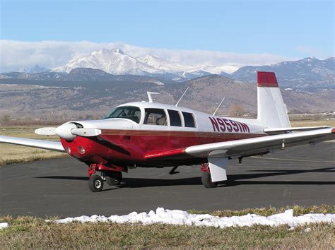 150 M To Ft by Larson Aircraft Sales Mooney Turbo Executive M20f