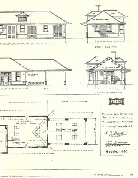 railroad house plans awesome railroad depot plans 3 train depot blueprints the scene below is also seligman