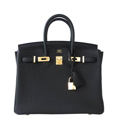 Hermes Black hermes birkin bag 25cm black togo gold hardware world s best