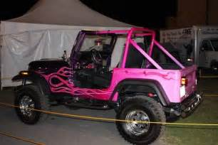 Pink Jeep Wrangler Accessories Black And Pink Jeep Wrangler Pictures W Pink