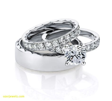 luxury cheap wedding ring sets for him and jewelry