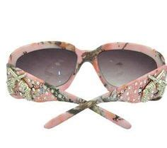 montana west pink camo bling sunglasses from www